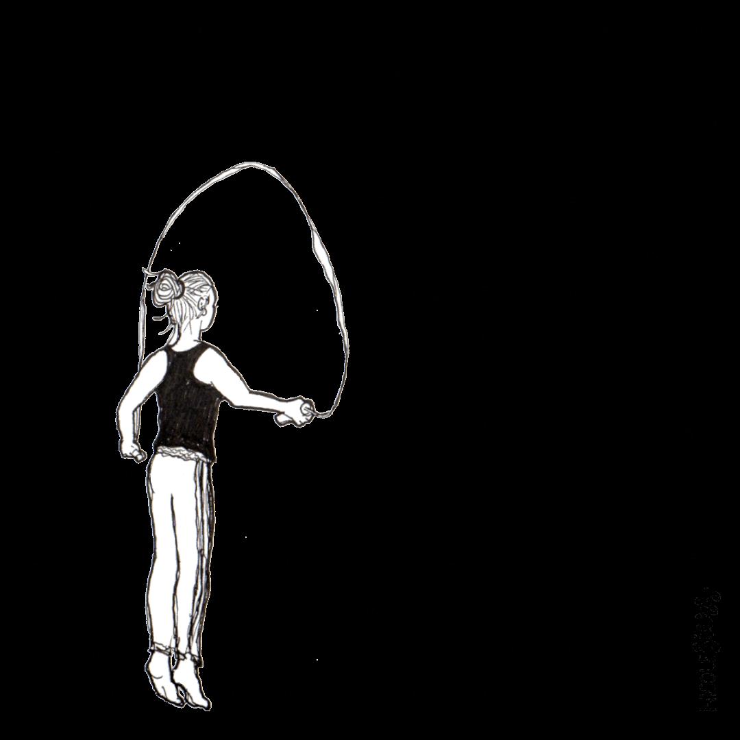 touwtje springen springtouw